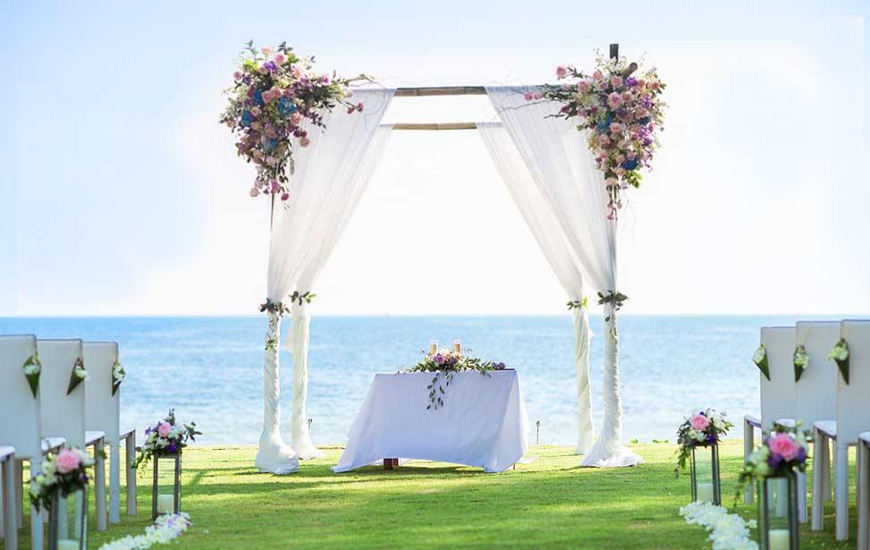 普吉岛纳卡海景草坪婚礼 普吉岛纳卡婚礼 NAKA