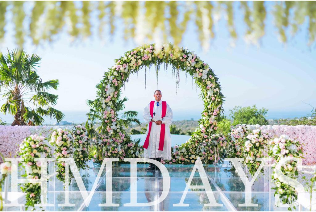 蜜月时光的巴厘岛海外婚礼布置案例|海外婚礼定制中高端布置案例|巴厘岛婚礼布置定制案例