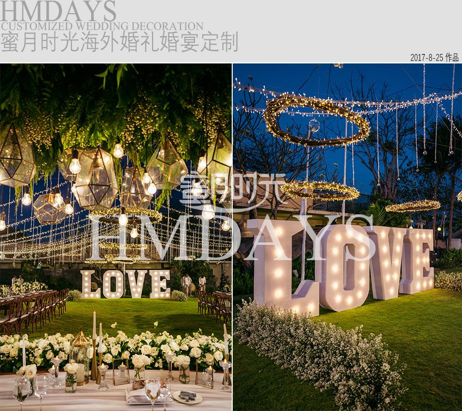 巴厘岛婚礼晚宴定制|海外婚礼定制中高端布置案例|巴厘岛婚礼布置定制案例