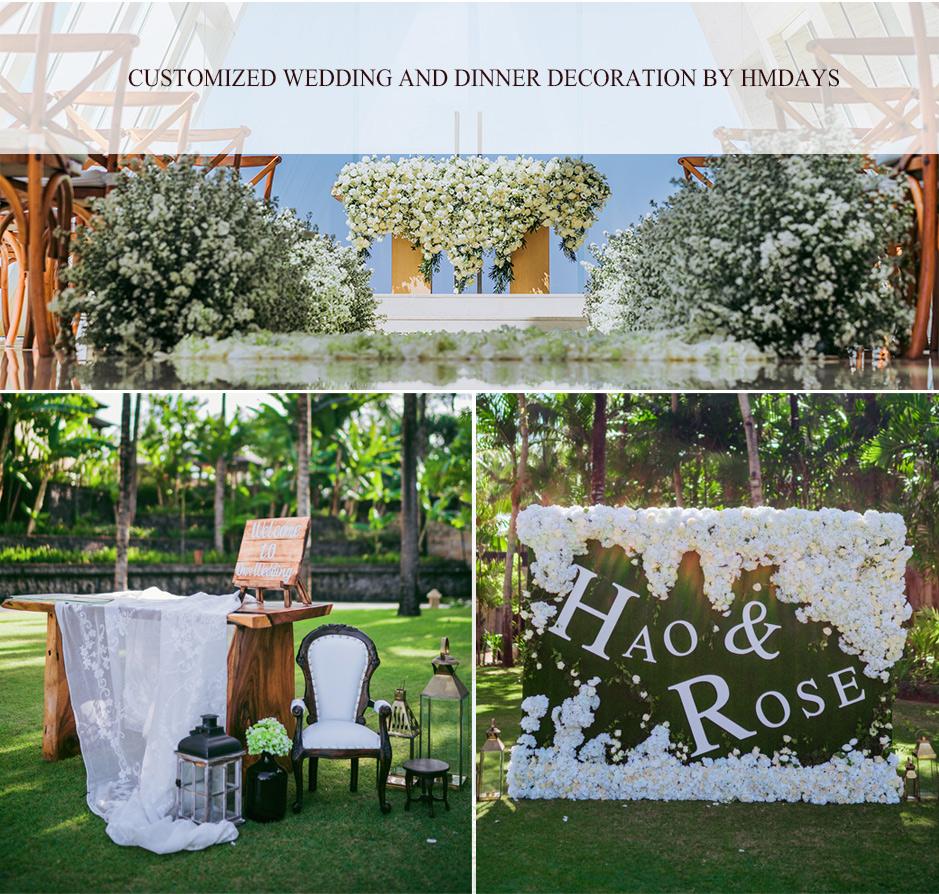 婚礼晚宴巴厘岛|海外婚礼定制中高端布置案例|巴厘岛婚礼布置定制案例