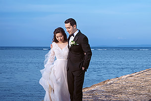 巴厘岛港丽无限教堂婚礼客片_海外婚礼