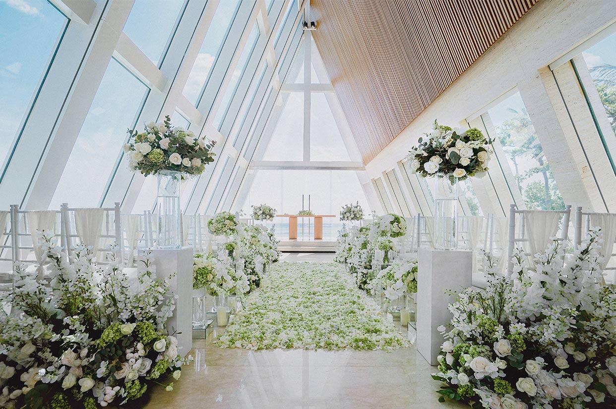 无限教堂婚礼布置 - AQUA PATH