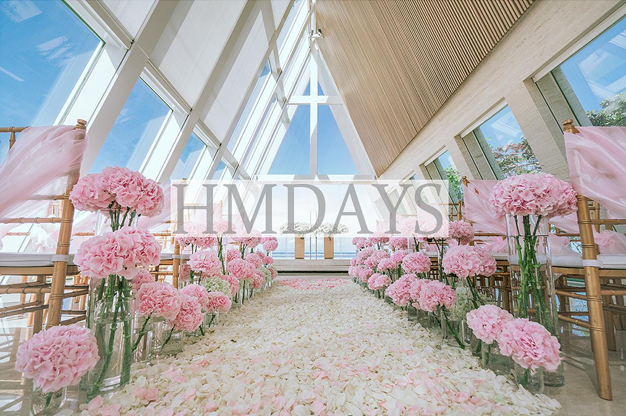 港丽酒店婚礼布置 - PINKY 婚礼+晚宴