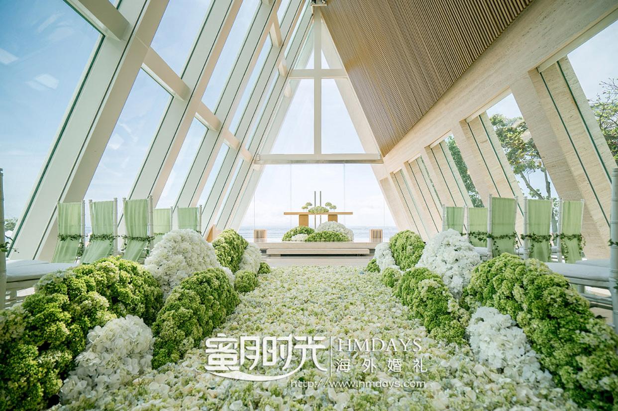 港丽酒店婚礼布置 - GREEN CLOUD