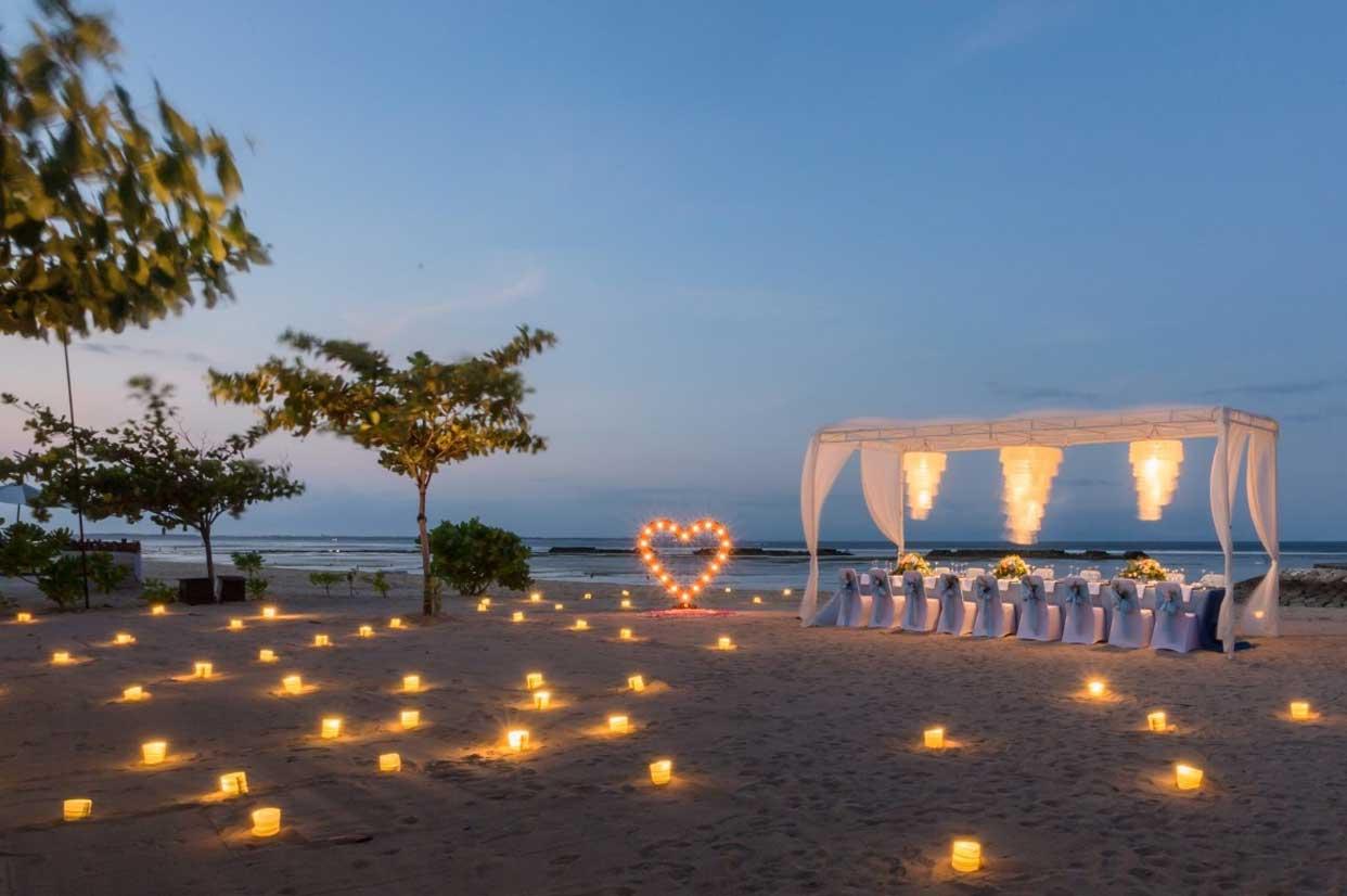 肉桂沙滩婚礼晚宴 - KAYU BEACH
