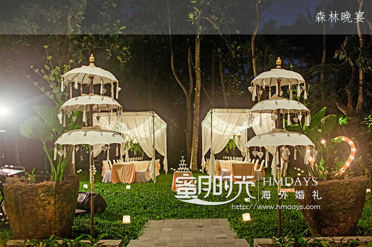 肉桂花园婚礼晚宴 - KAYU GP