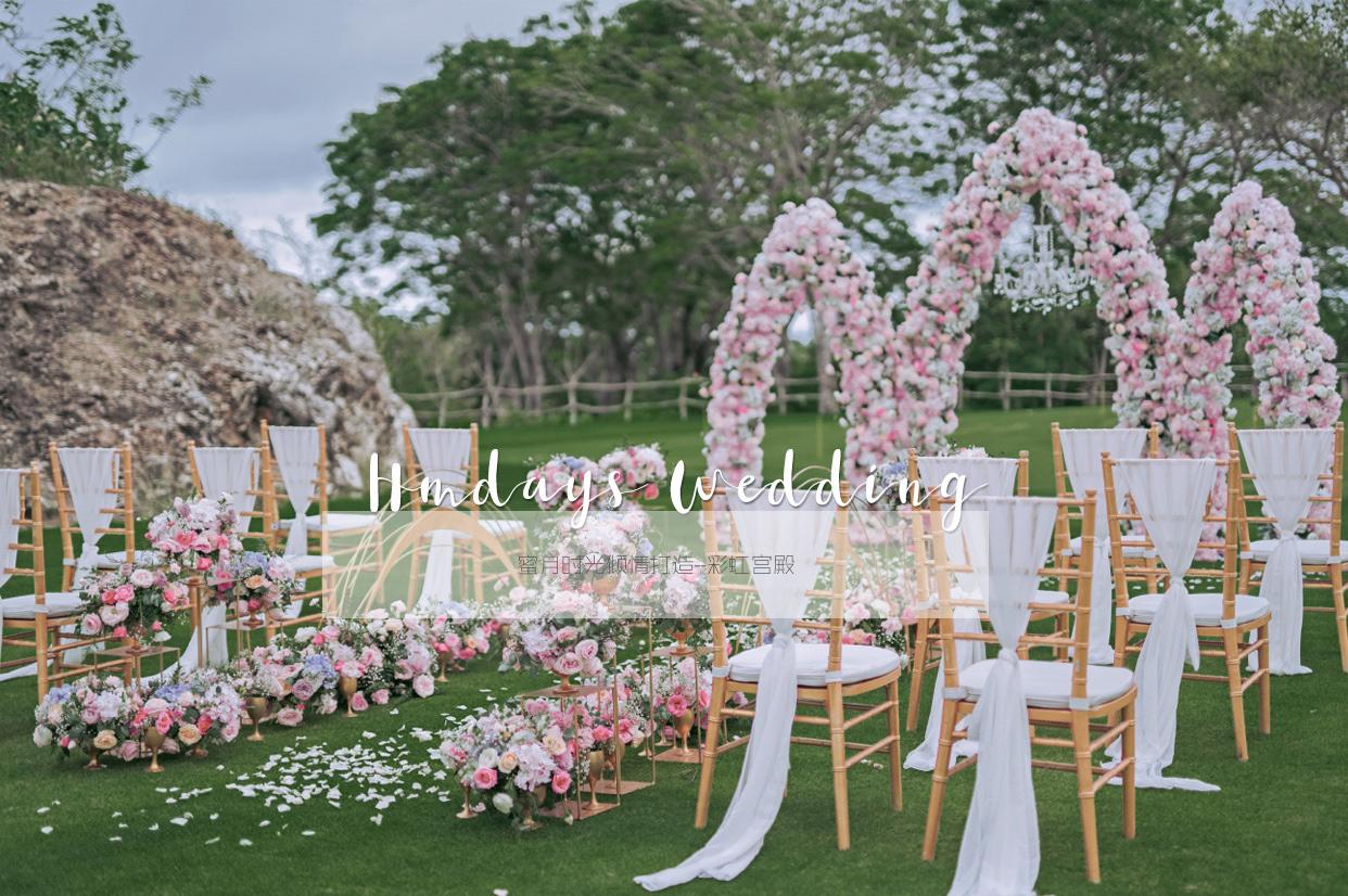 彩虹宫殿婚礼布置 - RAINBOW PALACE