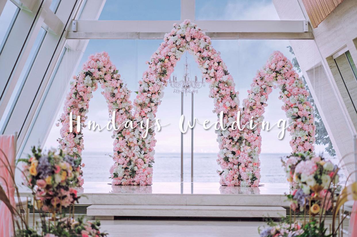港丽酒店婚礼布置 - PNIKY GARDEN