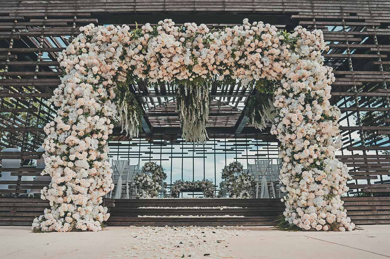 阿丽拉婚礼布置 - FLOWING ALLURE