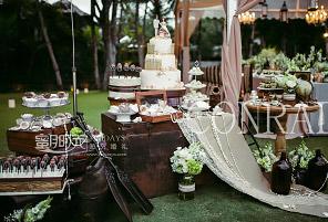 FOREST BOAT|海外婚礼定制中高端布置案例|巴厘岛婚礼布置定制案例