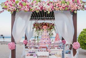 KAYU PINK|海外婚礼定制中高端布置案例|巴厘岛婚礼布置定制案例