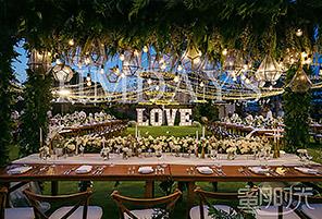 港丽酒店婚礼晚宴 - GREEN FOREST|海外婚礼布置案例|海外婚礼晚宴