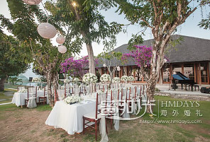 WHITE TIRTHA|海外婚礼定制中高端布置案例|巴厘岛婚礼布置定制案例