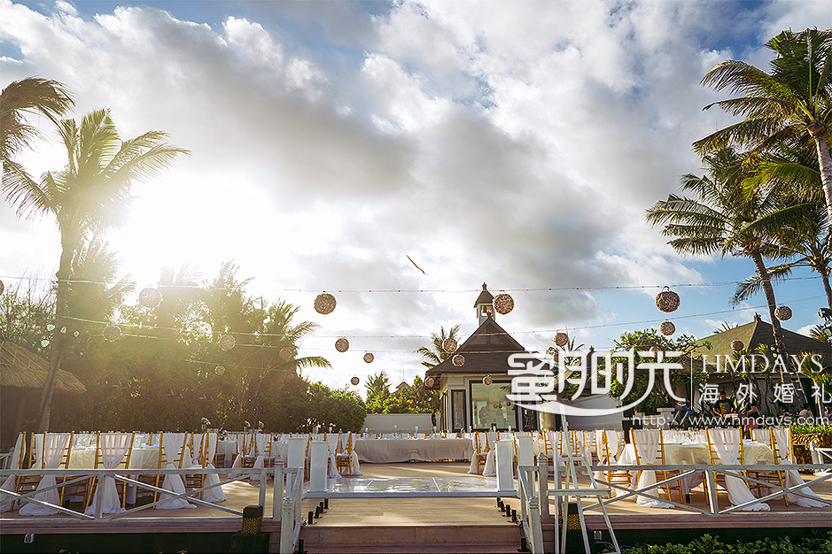 海外婚礼晚宴布置案例照片 海外婚礼定制中高端布置案例 巴厘岛婚礼布置定制案例