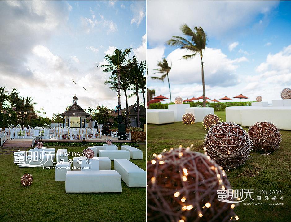 海外婚礼晚宴布置案例照片|海外婚礼定制中高端布置案例|巴厘岛婚礼布置定制案例