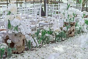 阿丽拉婚礼布置 - EXALTED ELEGANCE|海外婚礼布置案例|海外婚礼晚宴