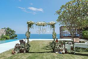 FANTASY|海外婚礼定制中高端布置案例|巴厘岛婚礼布置定制案例