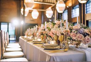 港丽酒店婚礼晚宴 - INFINITE RAINBOW DINNER|海外婚礼布置案例|海外婚礼晚宴