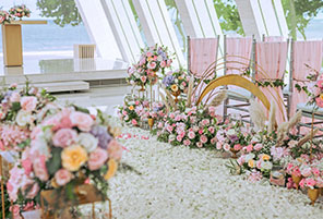INFINITE RAINBOW WEDDING|海外婚礼定制中高端布置案例|巴厘岛婚礼布置定制案例