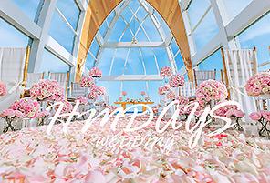 丽思卡尔顿婚礼布置 - FLORA PNIK|海外婚礼布置案例|海外婚礼晚宴