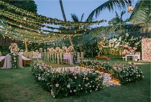 肉桂金巴兰婚礼晚宴 - FOREST SPRING II |海外婚礼布置案例|海外婚礼晚宴
