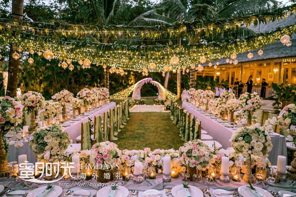 巴厘岛婚礼晚宴布置定制|巴厘岛定制晚宴宴会布置案例展示|海外婚礼定制布置|巴厘岛婚礼晚宴|海外婚礼定制中高端布置案例|巴厘岛婚礼布置定制案例