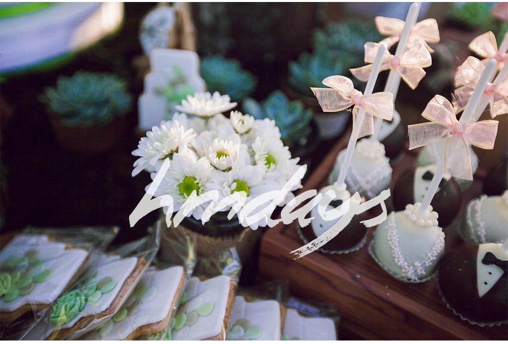 绿色生机盎然的巴厘岛婚礼甜品台|海外婚礼甜品台设计案例