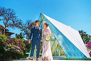 冯先生唐女士的巴厘岛水之教堂婚礼婚纱照片_海外婚礼