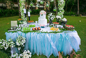 GREEN CORNER|海外婚礼定制中高端布置案例|巴厘岛婚礼布置定制案例
