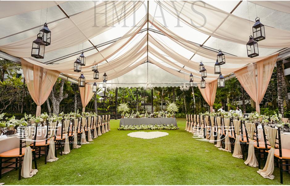 厘岛婚礼布置案例