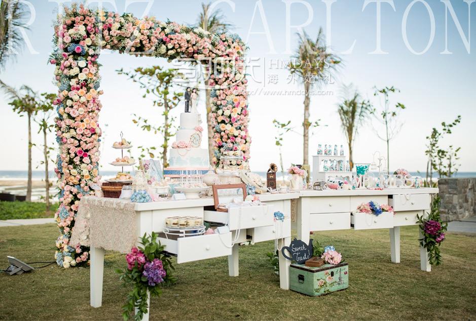 巴厘岛婚礼布置|高端海外婚礼布置