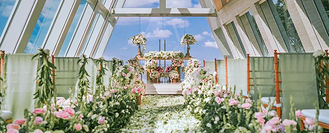 巴厘岛港丽教堂婚礼