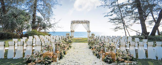 普吉岛丽宾海景草坪婚礼