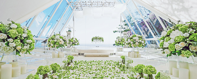 巴厘岛水之教堂婚礼