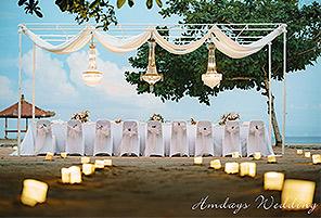 KAYU BEACH|海外婚礼定制中高端布置案例|巴厘岛婚礼布置定制案例