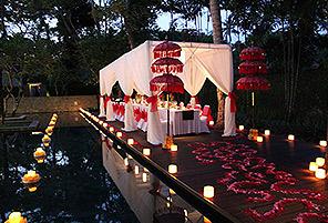 KAYU POOL|海外婚礼定制中高端布置案例|巴厘岛婚礼布置定制案例