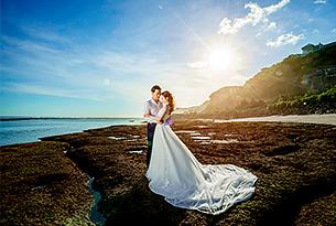 巴厘岛水之教堂婚礼婚纱照片(LY+SJW)_海外婚礼