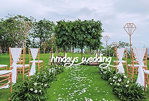 TIME FOREST|海外婚礼定制中高端布置案例|巴厘岛婚礼布置定制案例