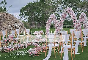 RAINBOW PALACE|海外婚礼定制中高端布置案例|巴厘岛婚礼布置定制案例