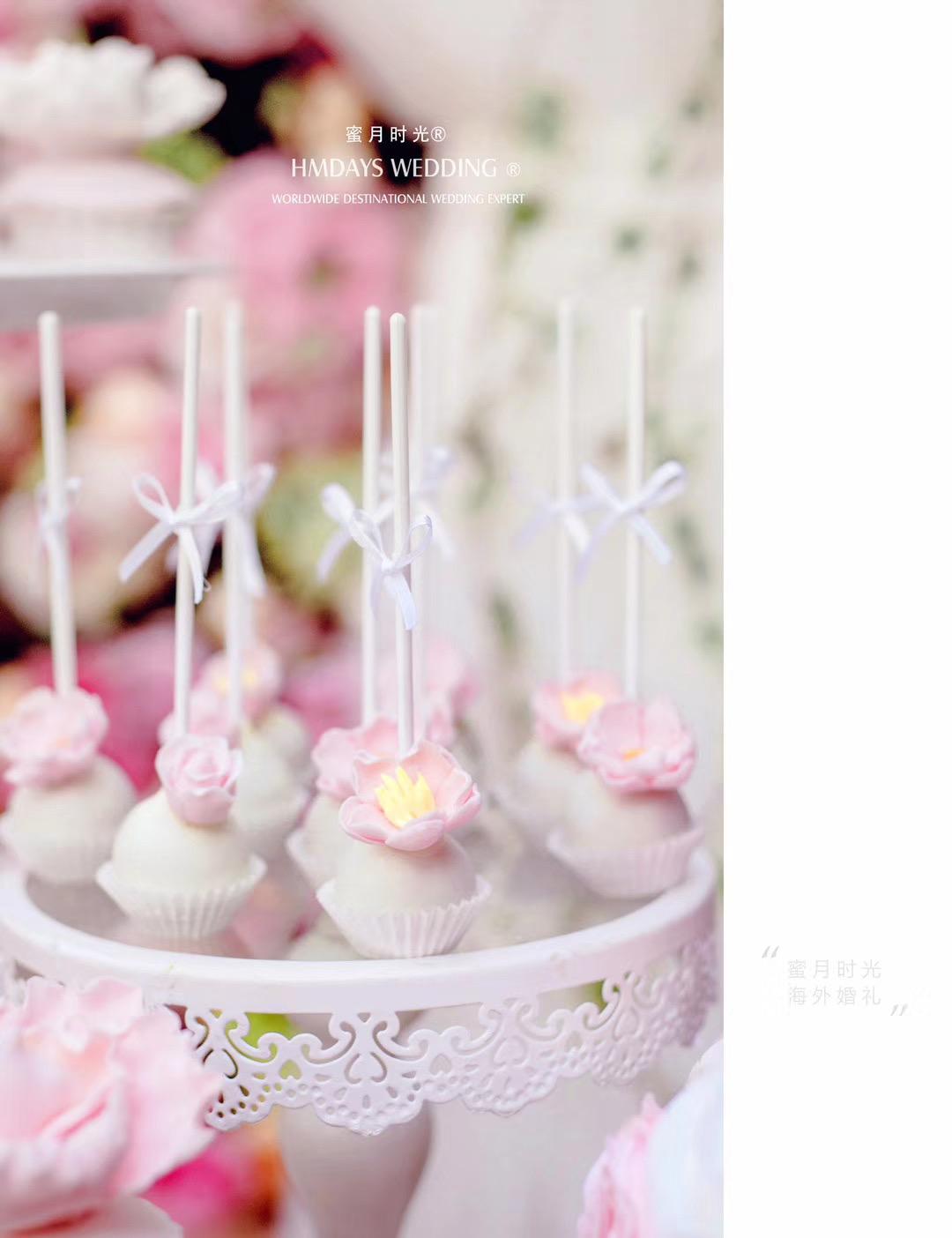 海外婚礼巴厘岛婚礼甜品台