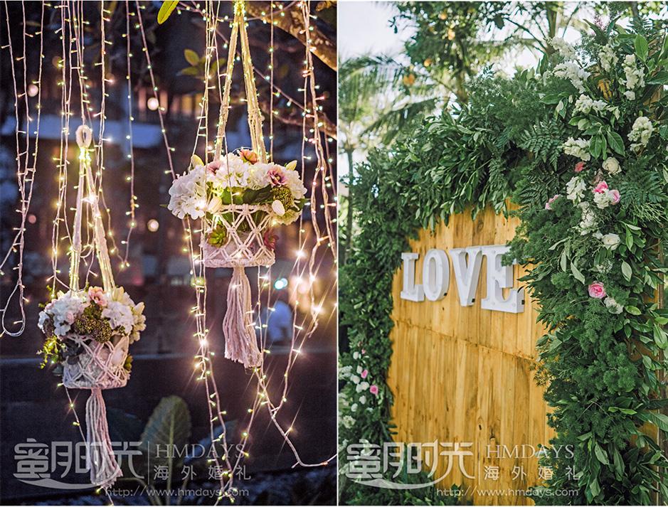 巴厘岛最美海外婚礼布置案例 海外婚礼布置案例照片