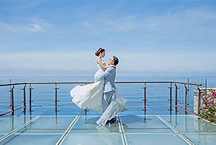 水之教堂婚礼客片T+L_海外婚礼