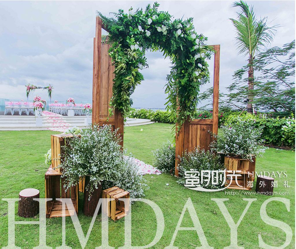 巴厘岛ayana别墅 villa婚礼布置案例