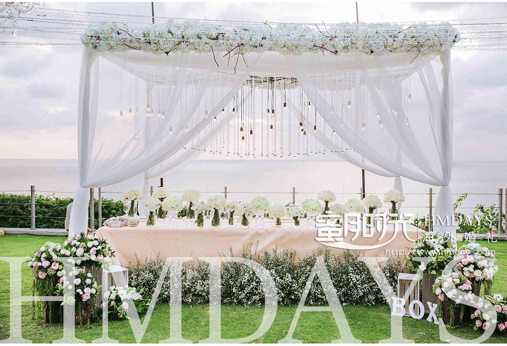 巴厘岛ayana别墅 villa婚礼布置案例|海外婚礼布置案例