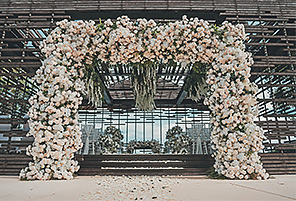 FLOWING ALLURE|海外婚礼定制中高端布置案例|巴厘岛婚礼布置定制案例