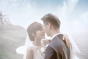 巴厘岛天空之镜水台婚礼(2019布置)客片