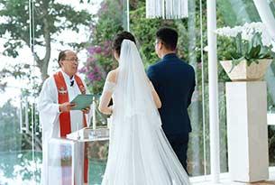 巴厘岛水之教堂婚礼客片(岳先生和许女士)_海外婚礼