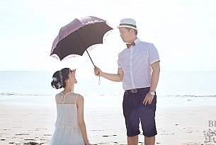 海外婚礼 巴厘岛婚礼 蓝点教堂婚纱照_海外婚礼