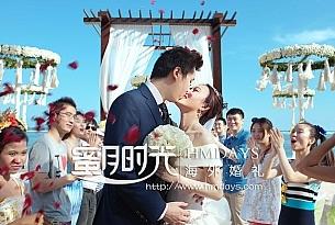 巴厘岛瑞吉沙滩婚礼客户照片(Mr.Le+Mrs.Chen)_海外婚礼