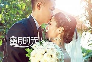 巴厘岛蓝点教堂婚礼婚纱照HC_海外婚礼
